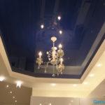Натяжной потолок на кухню фото 2