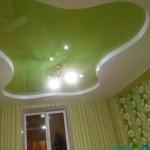 Двухуровневые потолки фото 3