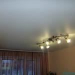 Матовый натяжной потолок фото 2