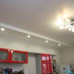 Двухуровневые потолки фото 10